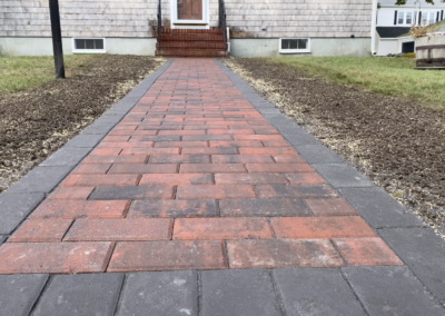 Walkway Installation – Fairhaven, MA