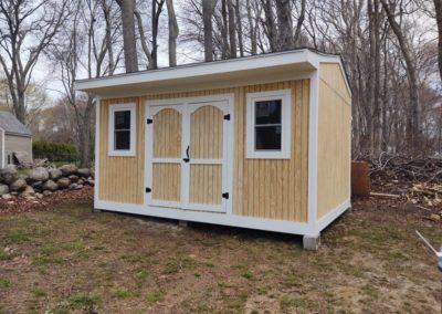 Custom Shed Build- Fairhaven, MA