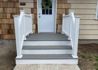 Front Porch Construction