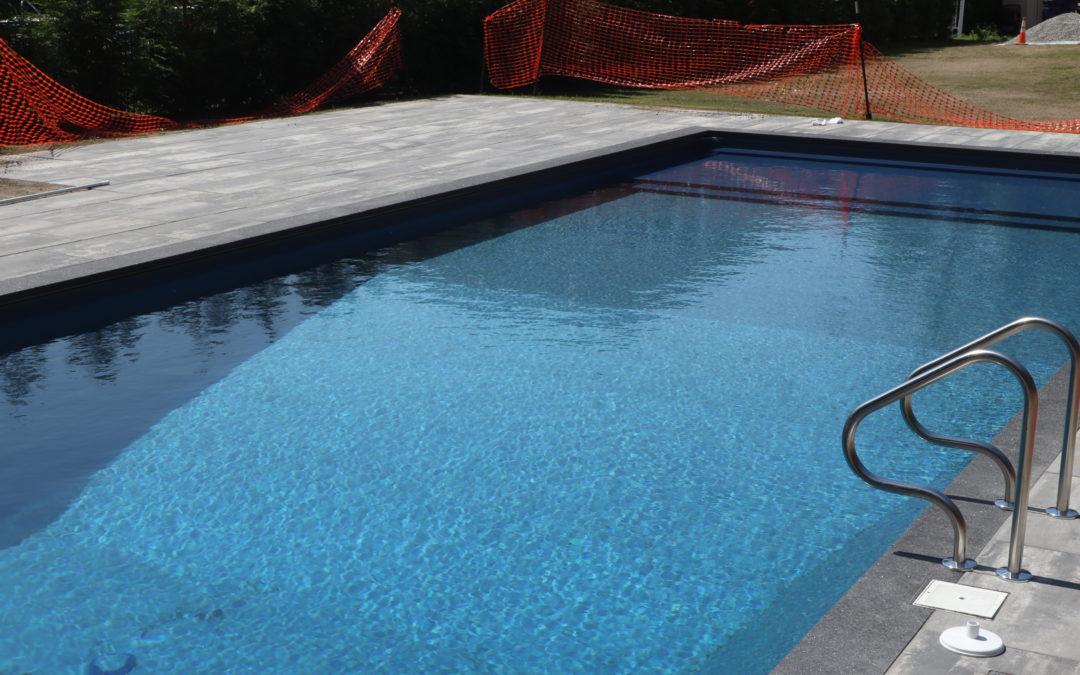 Pool Patio Installation | Mattapoisett, MA