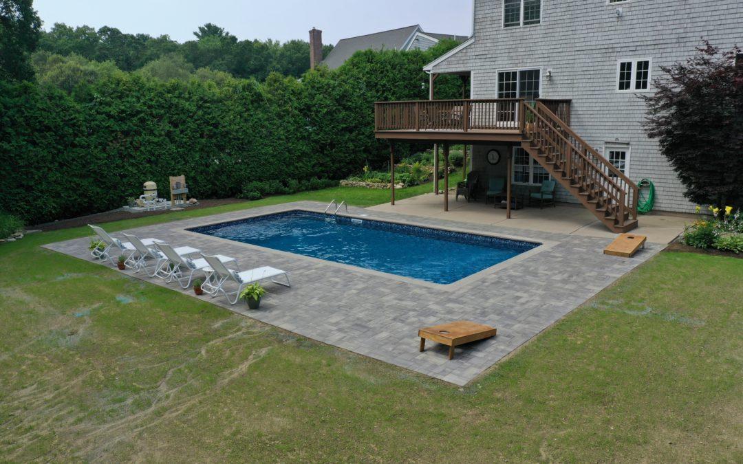 Pool Patio Installation | Fairhaven, MA