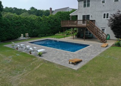 Pool Patio Installation   Fairhaven, MA